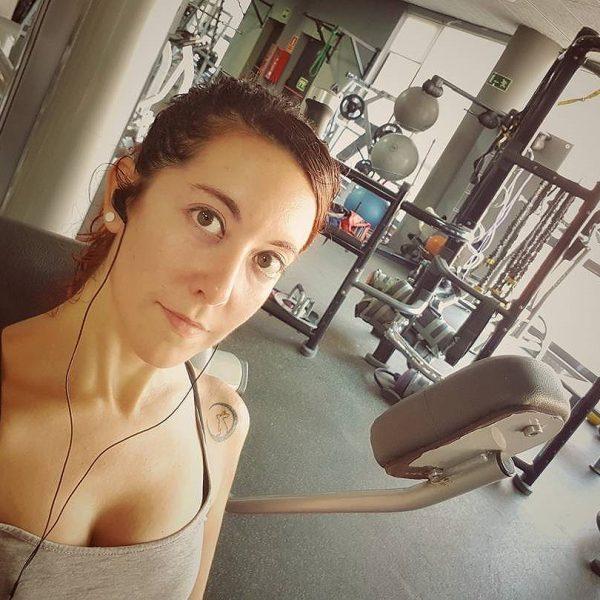 [kyokolunar] Gym! Hoy viernes a ponerme en forma, no hay