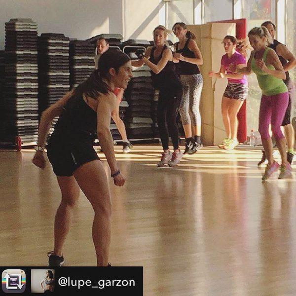 [o2cwgranada] Nuestra técnica @lupe_garzon disfruta como nunca en el evento