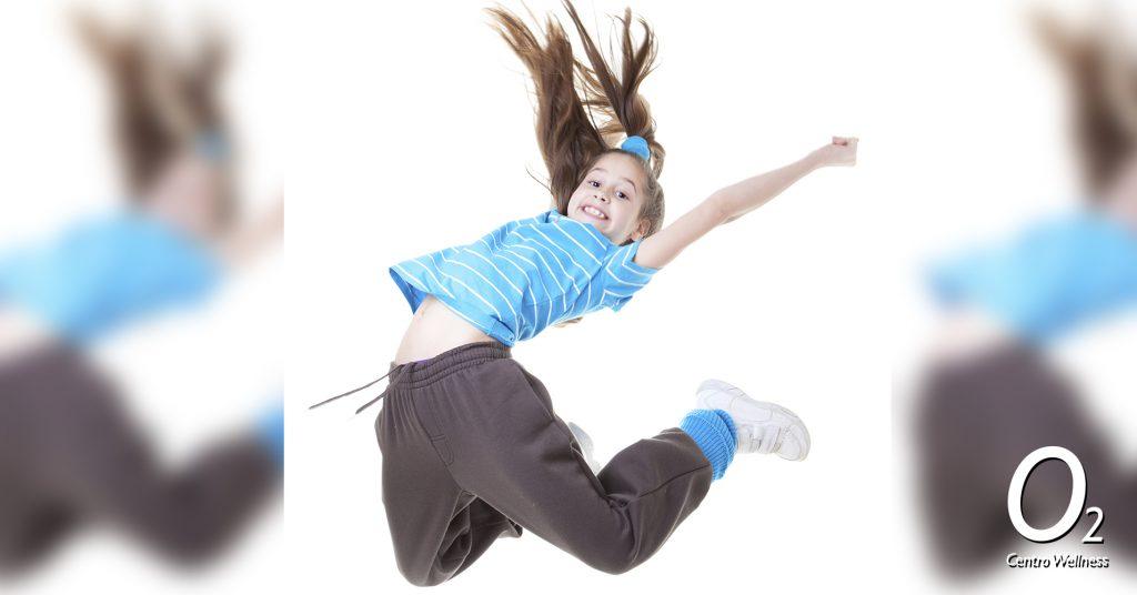 baile ninos en o2cw entrenando