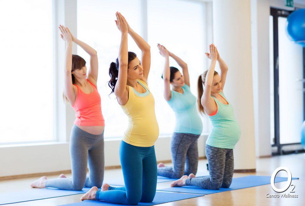 Gimnasia para embarazadas O2 Centro Wellness