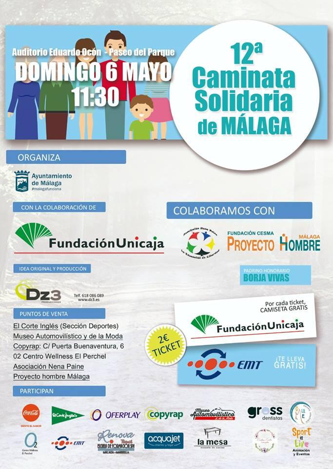 Caminata Solidaria Malaga 2018