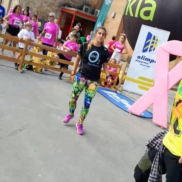 [o2cwgranada] El Domingo Granada se vistió de rosa con motivo